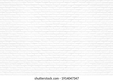 White brick wall used as background