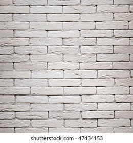 white brick-wall texture