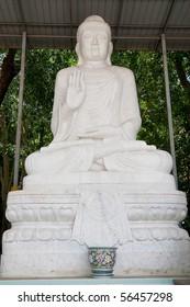 White Buddha Chinese in Thailand.