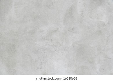 White bumped cement wall