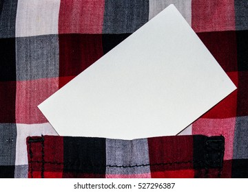 White busness card  calling card visiting card on the linen cotton flax background presentation introduction