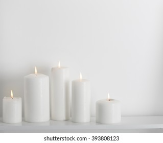White Candle Images Stock Photos Vectors Shutterstock