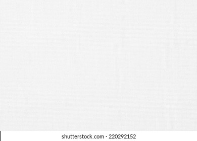 White canvas background texture