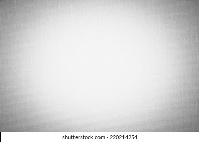 White canvas background texture with vignette