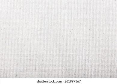 White canvas pattern texture.