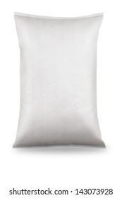 White canvas sack