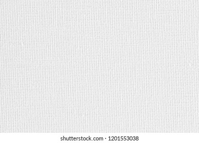White canvas texture background