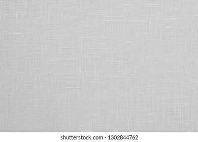 White Canvas Texture Background, Linen Fabric Texture.