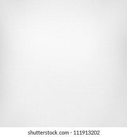 White Canvas Texture Linen Paper Background