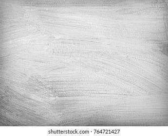 White cardboard rough painted. Abstract background