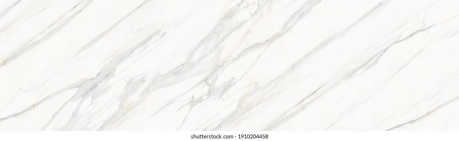 white carrara marble texture | marble white background - Shutterstock ID 1910204458