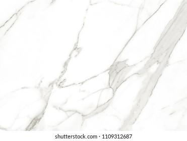 White Carrara Marble Texture. Premium White Stone Background.
