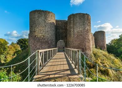 White Castle, Abergavenny, Monmouthshire, Wales, UK