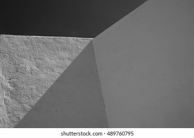 white cement surfaces