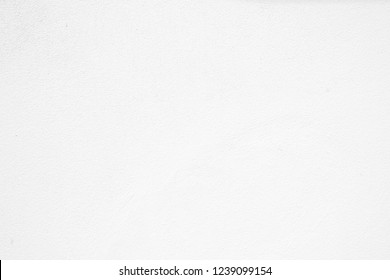 White Cement Wall Background.