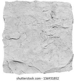 white chalk stone texture.