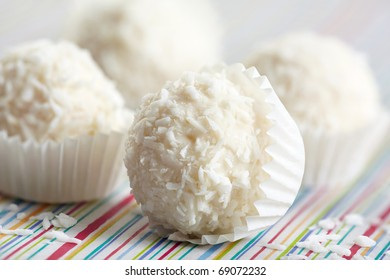 white chocolate truffles