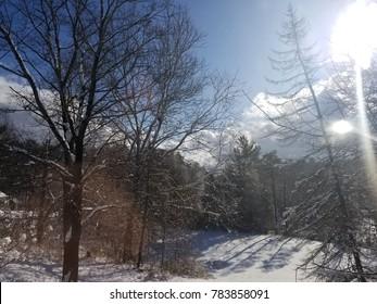 White Christmas in Upstate New York
