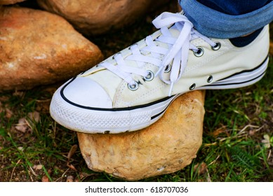 The White Chuck Taylor Shoes