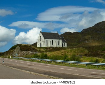 White Church - Scotland, Polnish, Near Lochailort