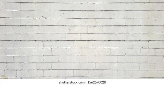 White Cinder Block Textured Wall Cinderblock