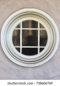 white circle window