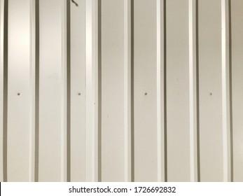 white clapboard metal sheet background