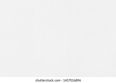 White Clean Cement Wall Paint Texture Background