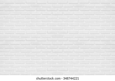 white clean rectangle brick texture wall  for background : Abstract, background and interior , exterior concept