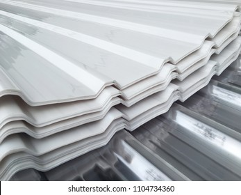white & Clear PC Roof tile sheets, Poly carbonate roof