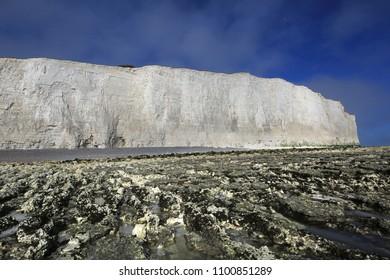 White Cliffs at Birling Gap, Sussex, UK