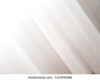 white cloth for abstract background texture, with soft waves condition