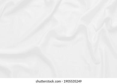 white cloth background soft wrinkled fabric patrem and surface