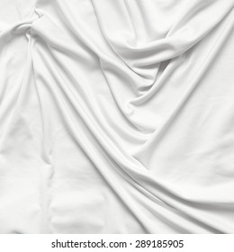 white cloth with pleats background
