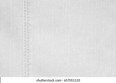 white cloth texture or linen background with seam