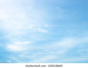 white cloud with blue sky background beautiful