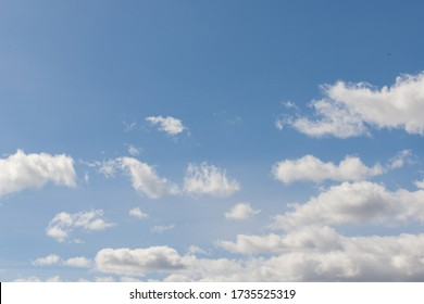 white clouds against the sky - Shutterstock ID 1735525319