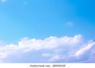 white clouds and white light