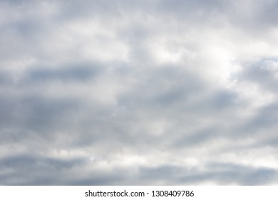white clouds on blue sky, nature background on heaven