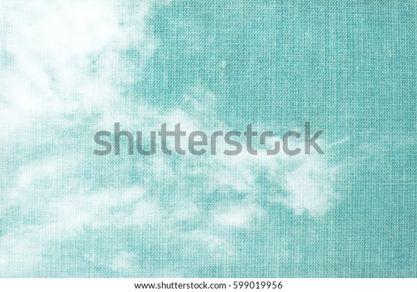 white clouds on textured background - space for text