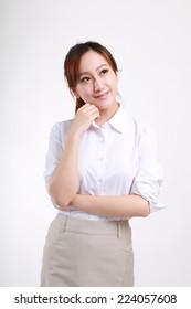 White collar Gesture