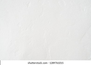 white color rough cement wall, real detail surface texture and empty space for background or design