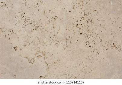 white color travertine wall face texture background