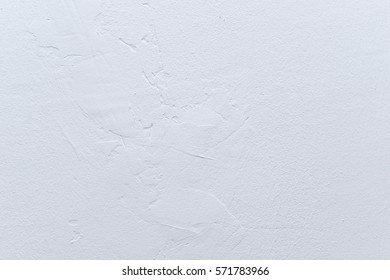 White color of wall painting with texture for background.