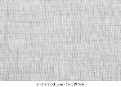 white colored seamless linen texture or fabric canvas background