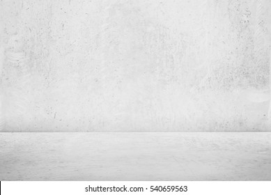White concrete background