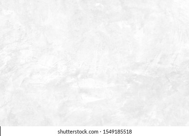 White concrete stone surface paint wall background, Grunge cement paint texture backdrop, White rough concrete stone wall background, Copy space for interior design background, banner, wallpaper