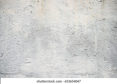 White Concrete Wall. Empty Abstract Background for Presentations and Web Design. A Lot of Space for Text.