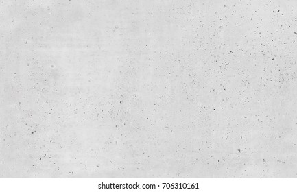White concrete wall with plastering relief pattern, seamless background photo texture