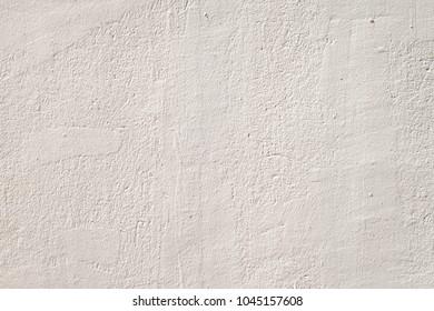 The white concrete wall texture
